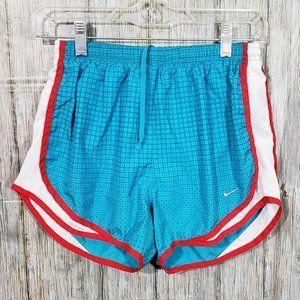 Women's Nike Track Running Shorts Tempo blue Sz S